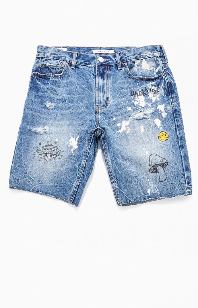 Colin Medium Denim Shorts