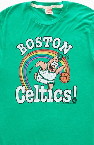 SpongeBob Celtics T-Shirt image number null