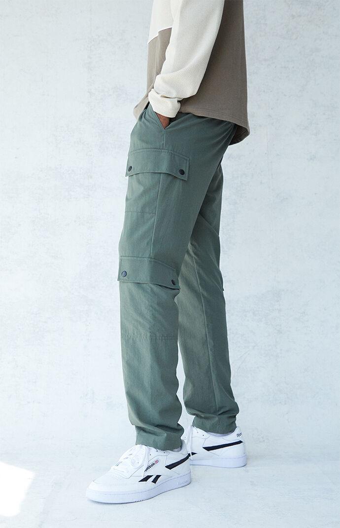 Griffith Nylon Panel Cargo Pants