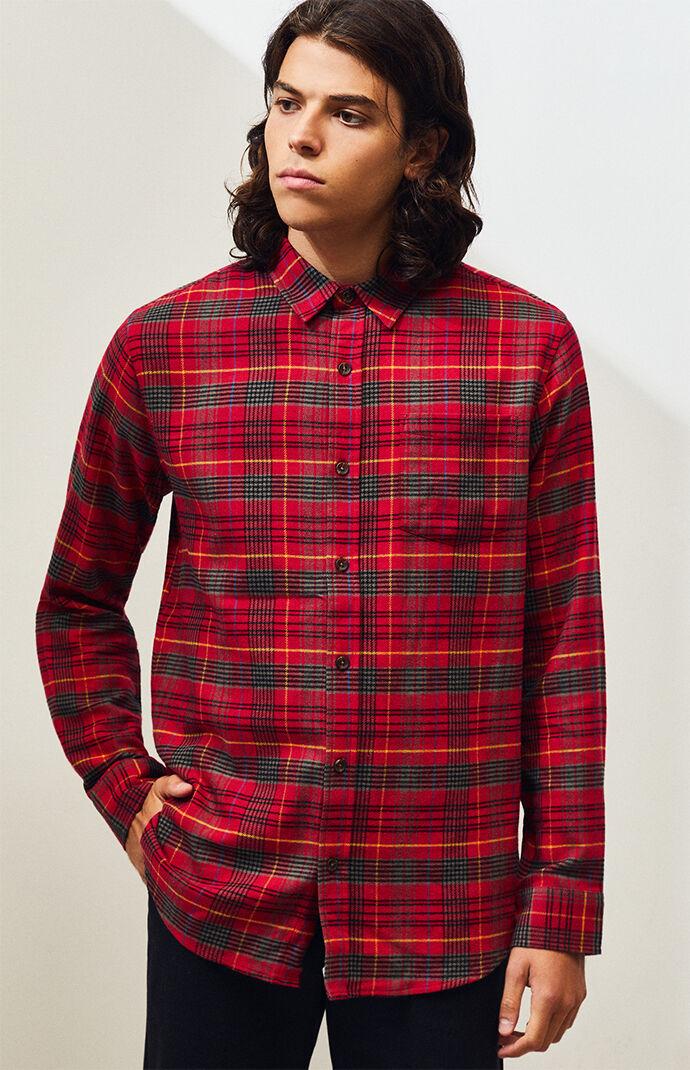 Kendro Plaid Flannel Shirt
