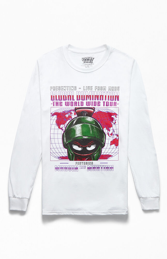 Marvin The Martian Long Sleeve T-Shirt