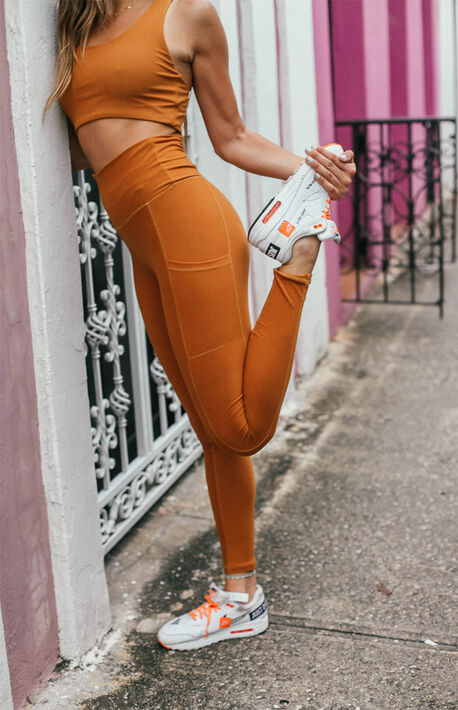 Turmeric Pocket Leggings
