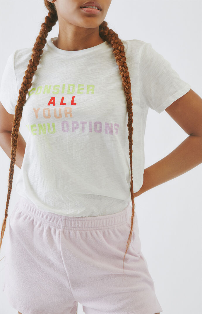 Menu Options T-Shirt