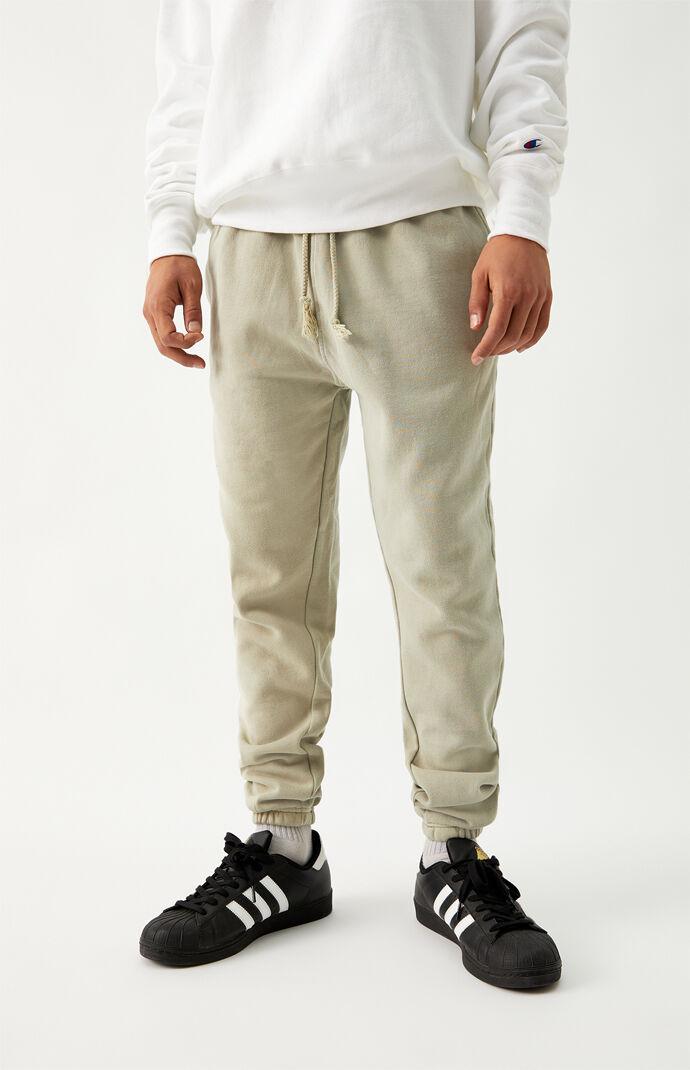 Stone Vintage Wash Sweatpants