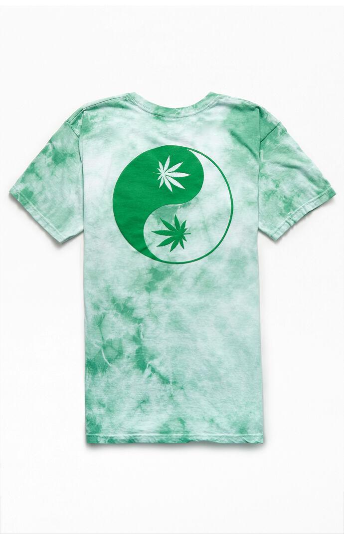 Tie-Dyed Yin-Yang T-Shirt