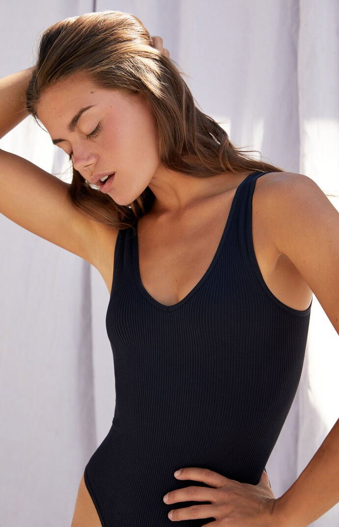 Seamless Ribbed Joy Bodysuit