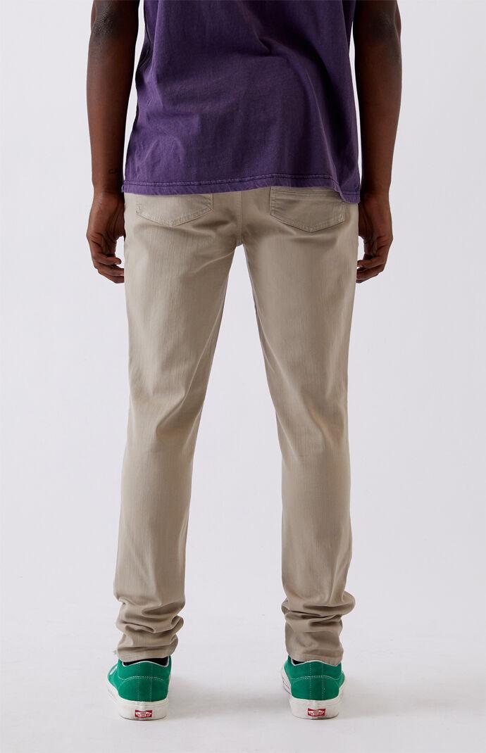 Khaki Stacked Skinny Jeans