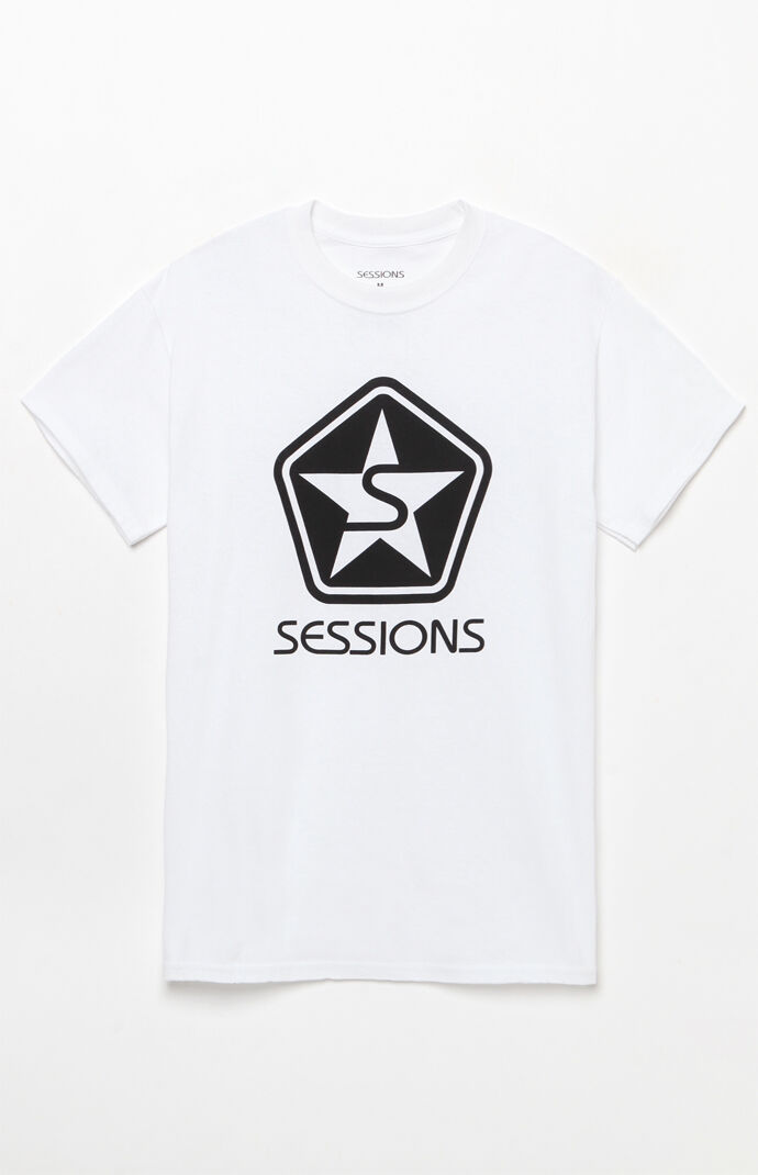 Sessions Mens Icon T-Shirt - White 7243579