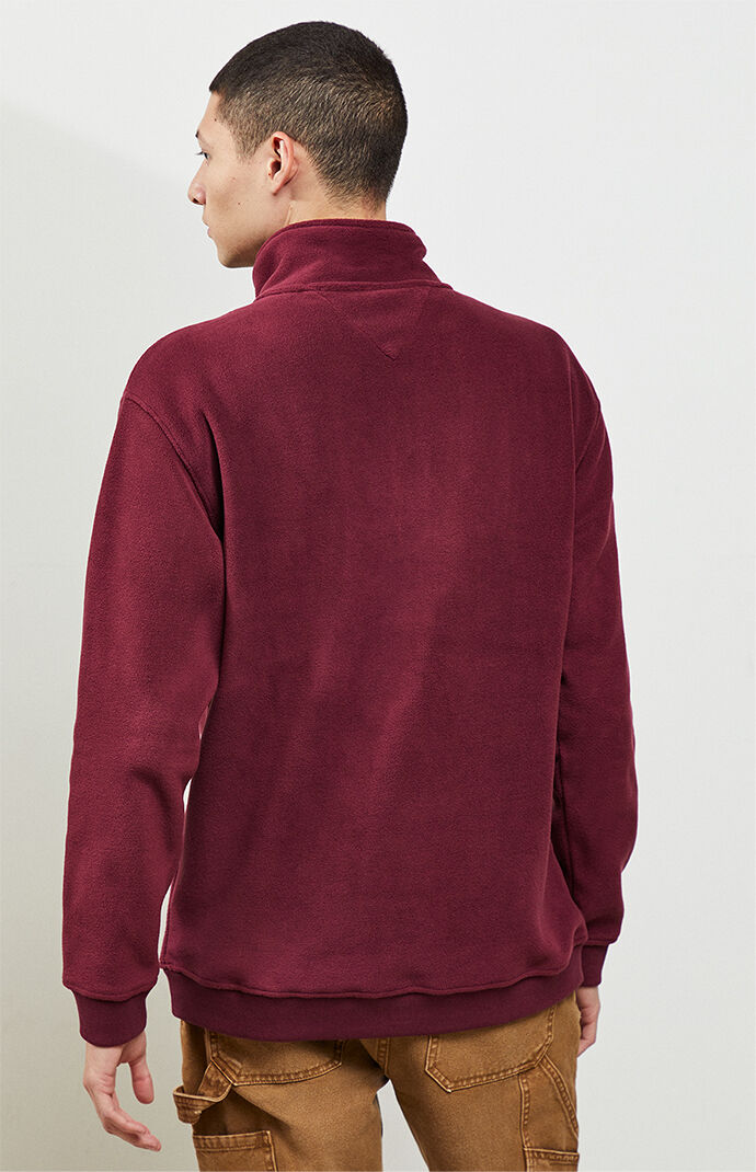 Mock Neck Polar Fleece Pullover