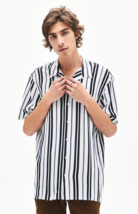 ed358bccc5 Adam Stripe Button Up Shirt