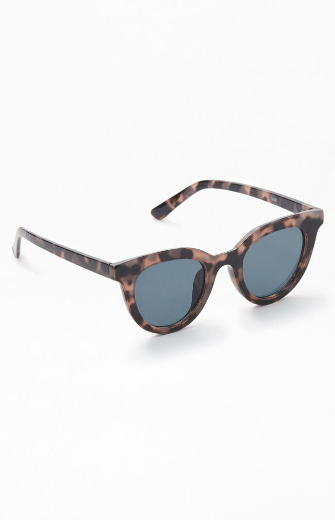 Gray Retro Modern Sunglasses