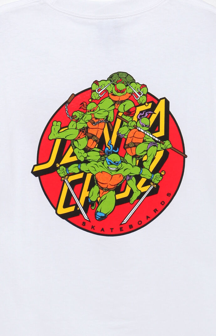 1cb6a0c9 Santa Cruz x TMNT Turtle Power T-Shirt | PacSun