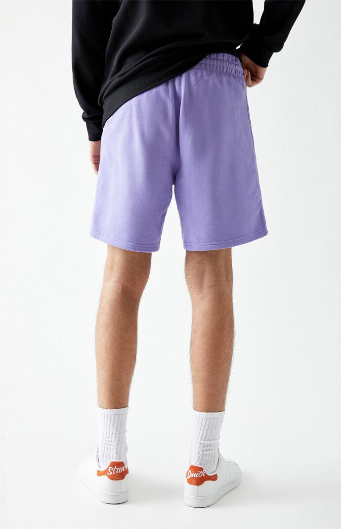 Purple Essential Sweat Shorts