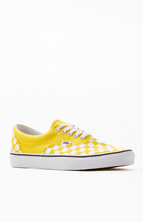 5219114a0c Yellow Primary Check Era Shoes