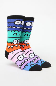 Monster Mash Crew Socks