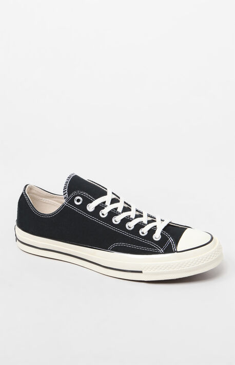 Chuck 70 Black Low Shoes