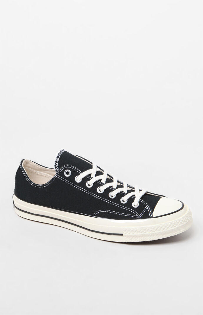 Black Chuck 70 Low Shoes