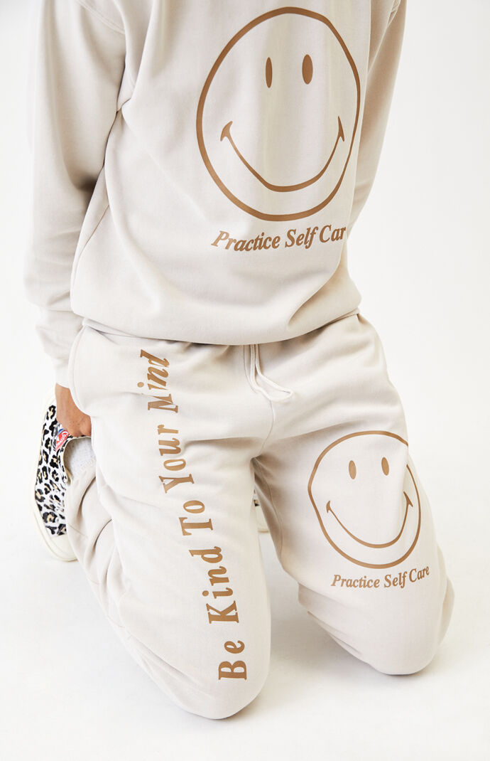 Smiley Self Care Sweatpants