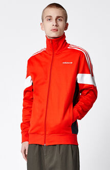 Challenger Red & White Track Jacket