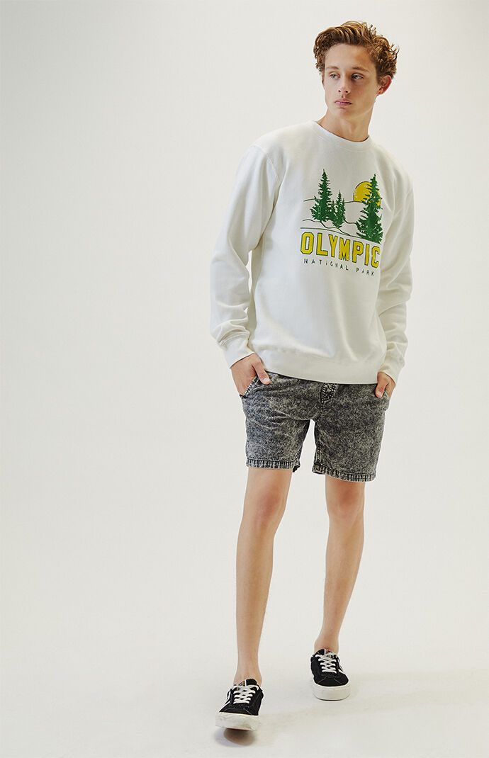 Olympic National Park Crew Neck Sweatshirt