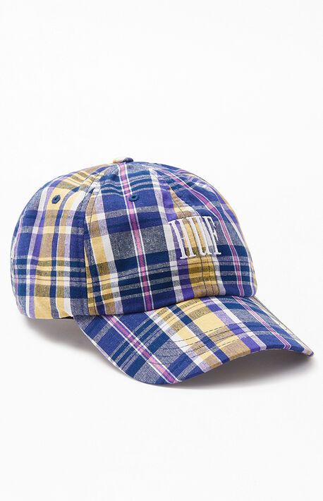 bcd63531 Plaid Catalina CV Strapback Dad Hat