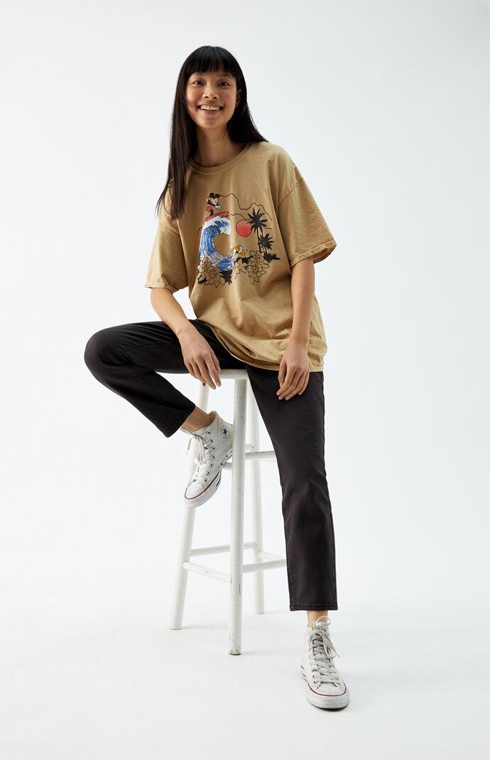 Retro Surfing Mickey T-Shirt