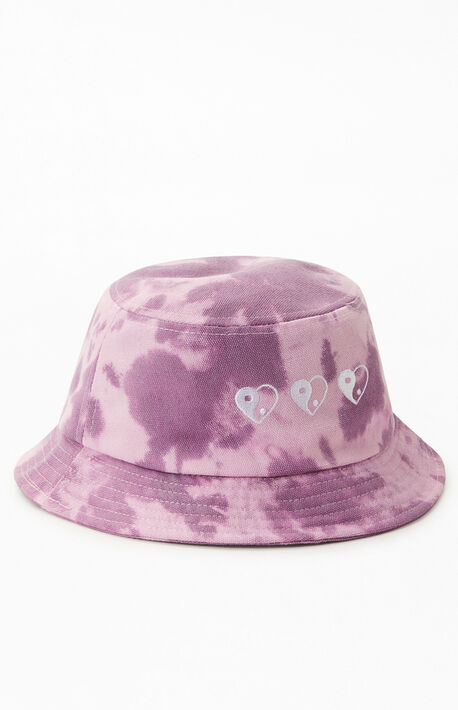 Heart Yin & Yang Recycled Bucket Hat