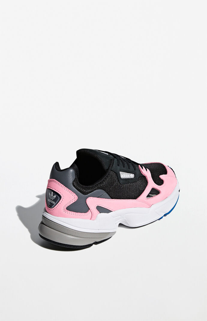 e4a0bb746 Women  39 s Black  amp  Pink Falcon Sneakers