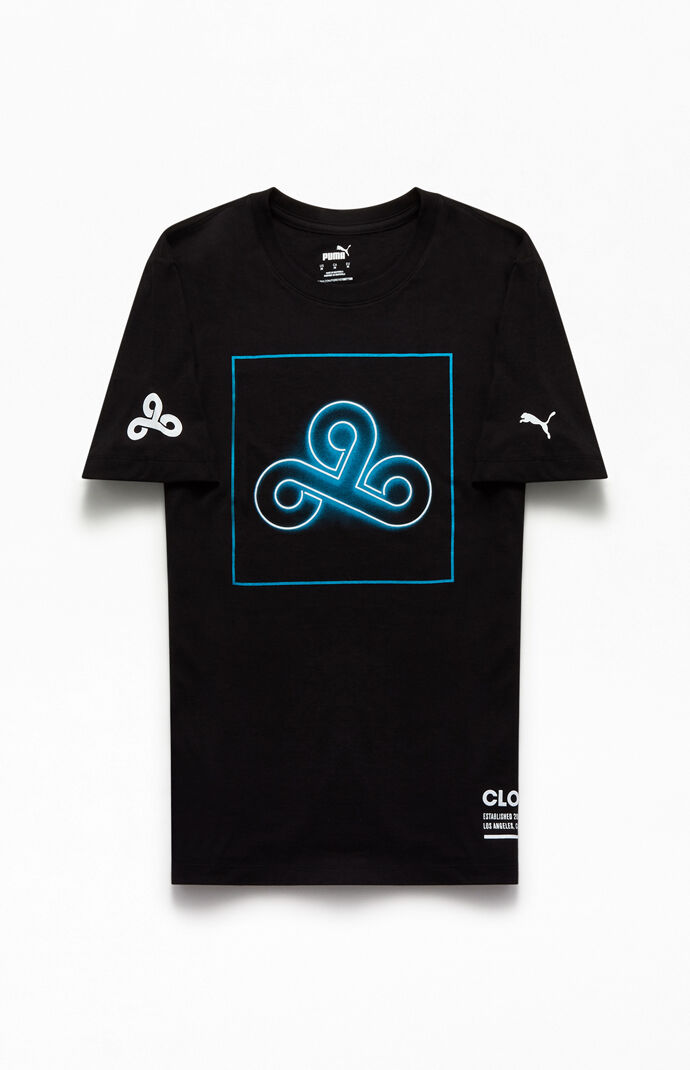 x Cloud9 Black Neon T-Shirt