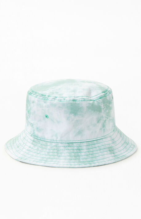 Green Tie Dye Bucket Hat