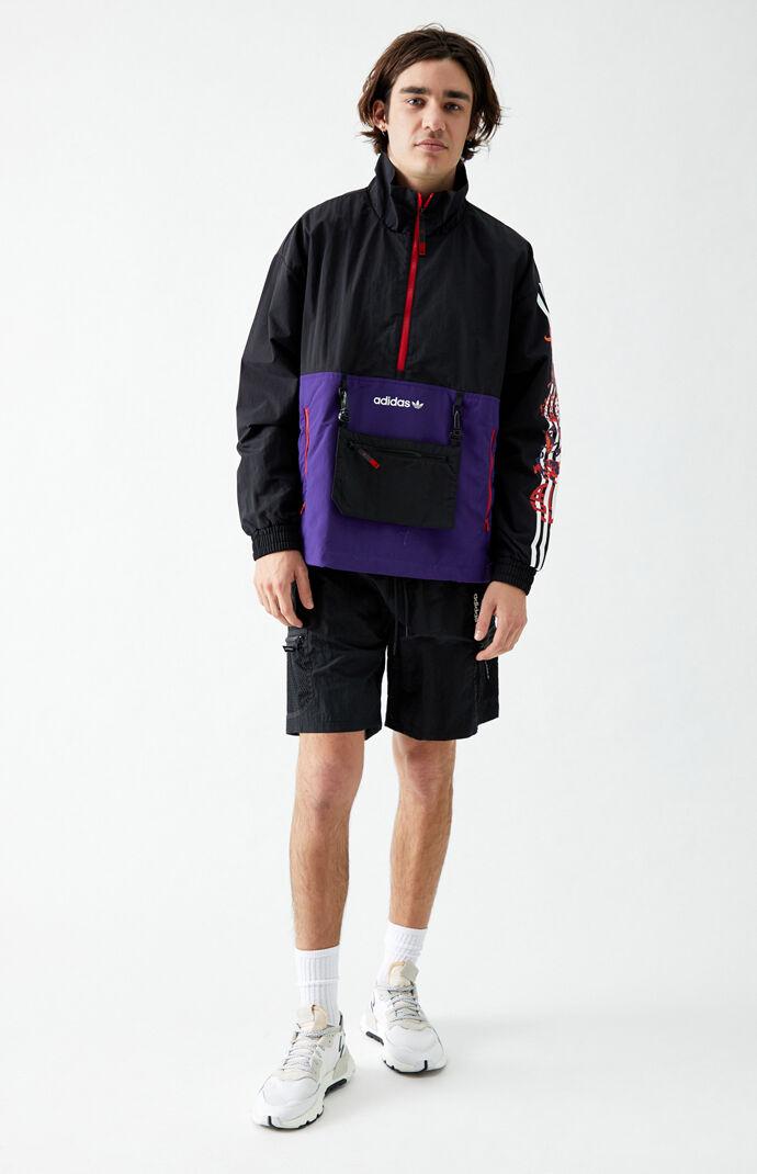 LNY Half-Zip Windbreaker Jacket