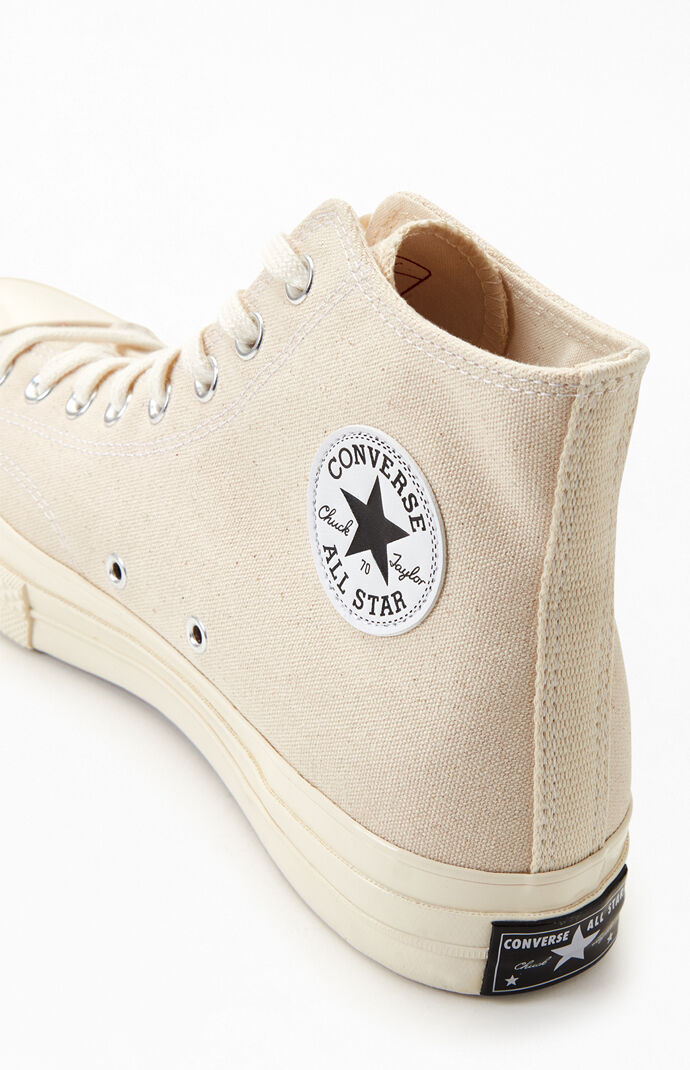 Natural Chuck 70 High Top Shoes