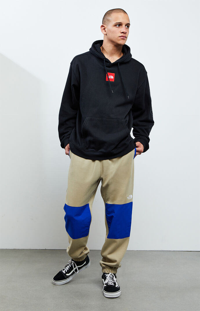 Mixed Panel Sweatpants