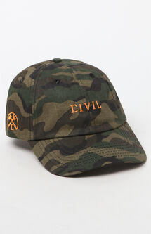 Core Camouflage Strapback Dad Hat