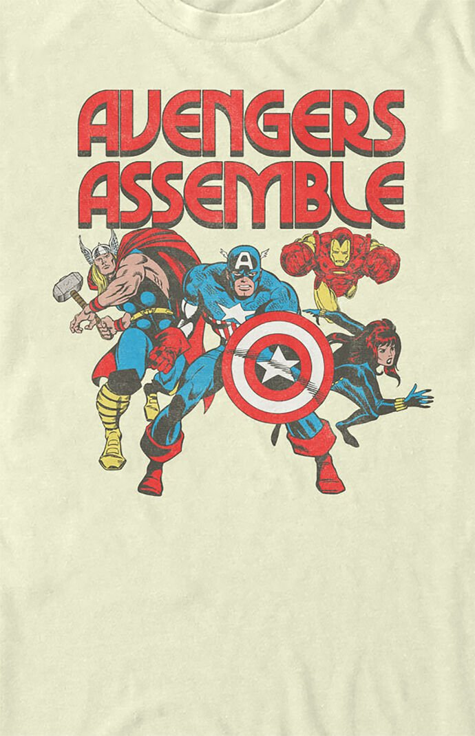 Avengers Assemble Short Sleeve T-Shirt