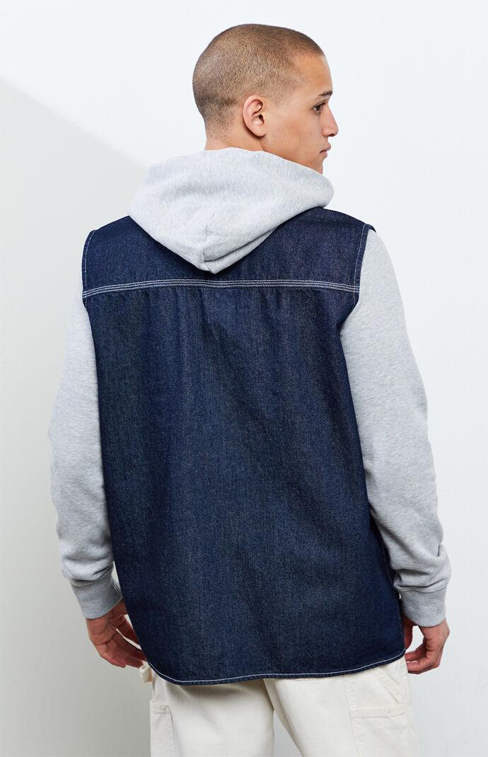 Denim Fishing Vest