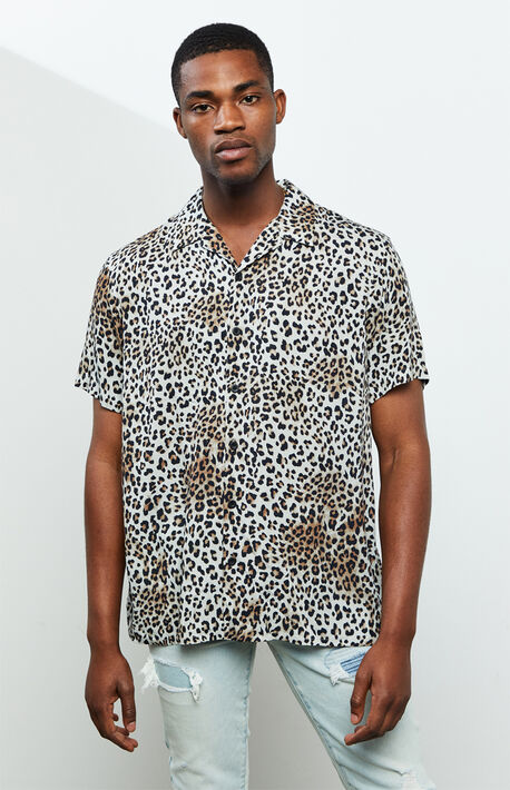 Leopard Camp Shirt
