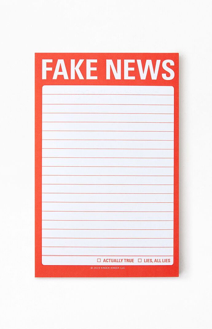 Fake News Sticky Notes