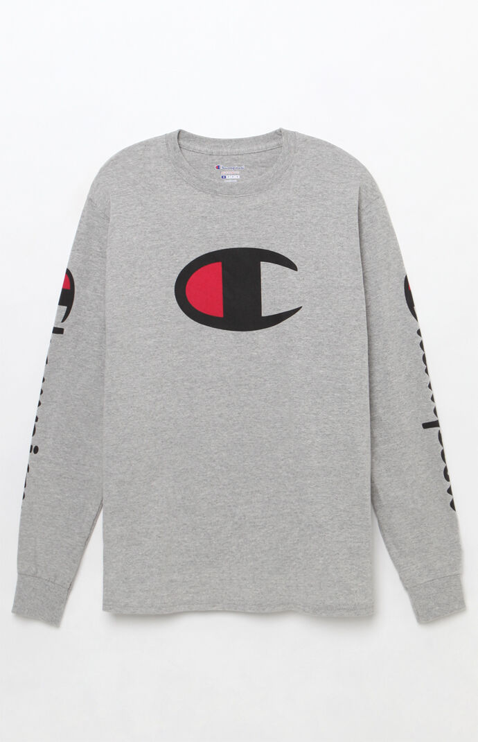 Big C Long Sleeve T-Shirt