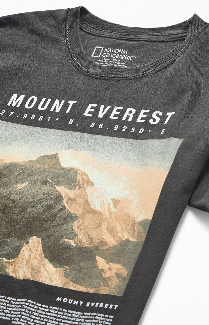 National Geographic Mount Everest T-Shirt