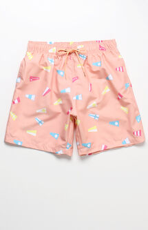"Flag Volley 16"" Swim Trunks"