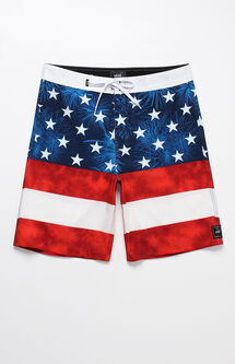 "Era Stars & Stripes 20"" Boardshorts"