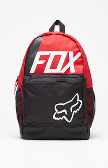 Kick Stand Red Laptop Backpack