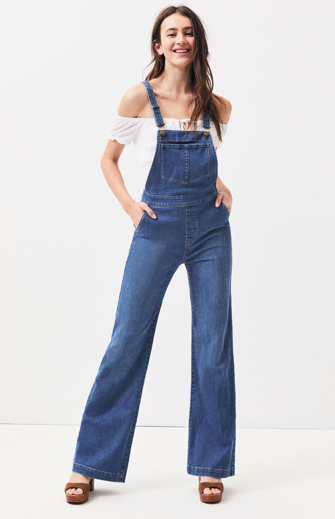 fe7a8a217010 Jeanie Flare Overalls