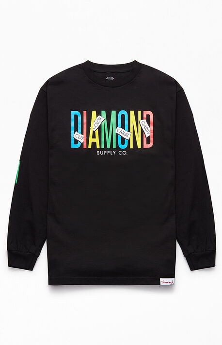 best sneakers 169fe 5aaef Principal Long Sleeve T-Shirt · Diamond Supply Co Principal Long ...