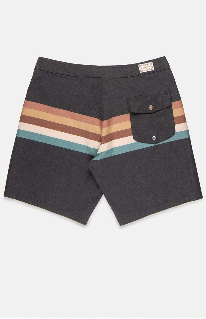 "Retro Stripe 18"" Boardshorts"