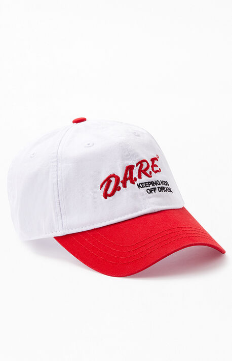 new product ea1f8 b2068 D.A.R.E. Strapback Dad Hat