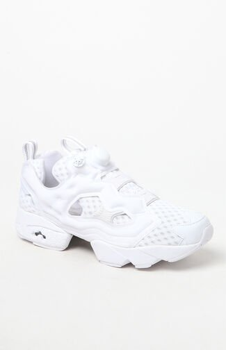 InstaPump Fury OG CC White & Grey Shoes
