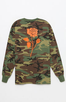 Ambush Pack Camo Rose Long Sleeve T-Shirt
