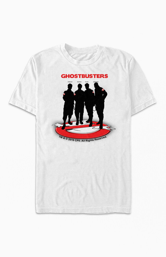 Silhouette Ghostbusters T-Shirt